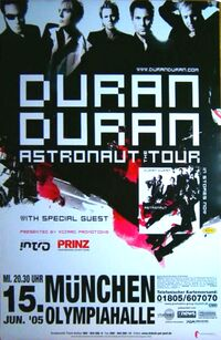 Olympiahalle, Munich, Germany wikipedia duran duran poster 2005