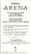 THE MAKING OF ARENA VHS · TOSHIBA-EMI · JAPAN · TT78-1145HI duran duran video wikipedia 1