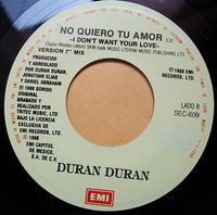 2024 i don't want your love MEXICO · SEC-609 duran duran discography discogs wikipedia 2