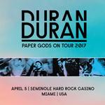 Paper Gods On Tour - Miami duran duran wikipedia music com bootleg