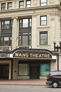 The Citi Performing Arts Center (formerly Wang theatre boston wikipedia duran duran