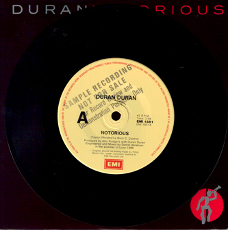 File:192 NOTORIOUS SONG AUSTRALIA EMI 1881 PROMO DURAN DURAN DISCOGRAPHY DISCOGS WIKIPEDIA.jpeg