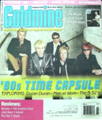 December 18, 2009 issue of Goldmine record collector's magazine with duran duran