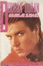1 new magazine The Reflex duran duran