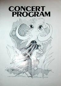 Duran duran blondie tour programme 14 august 1982