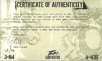 Liberator JT-84 Bass guitar john taylor duran duran 4