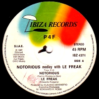 Duran duran notorious medley with le freak