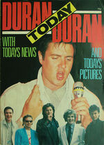 1 duran duran today magazine