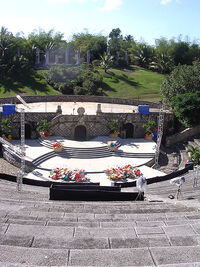 Amphitheater at Altos de Chavón duran duran