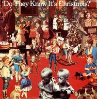 Do They Know It's Christmas single cover - 1984