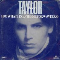 Image-John taylor single cover I Do What I Do b