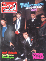 Ciao 2001 italy magazine Duran Duran Paul Simon Nina Hagen Righeira Keith Richards Fixx wikipedia 1983 no