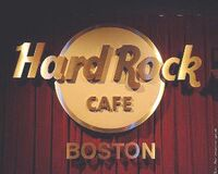 Hard Rock Café, BOSTON WIKIPEDIA DURAN DURAN LOGO