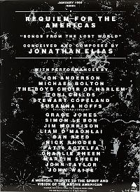 Poster Requiem For The Americas - Songs From The Lost World duran duran