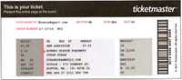 Duran duran ticket boston 27 april