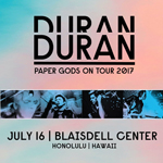 Paper Gods On Tour - Honolulu duran duran wikipedia music com