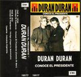 15 meet el presidente single song duran duran EMI ODEON · ARGENTINA · 16077 cassette discography discogs wiki com