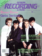 Modern recording & music magazine Vol.11 No 1 January 1985 duran duran duran