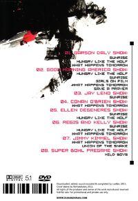 Fab five collection vol 1 duran duran romanduran dvd duran