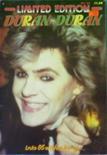 Magazine limited edition duran duran 19 1985