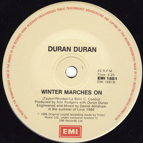 File:191 notorious song duran duran discography discogs wiki australia EMI 1881 single 3.jpeg