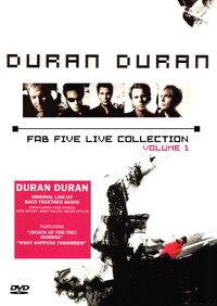 Fab five collection vol 1 duran duran romanduran dvd