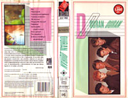 Spain VHS · VIDEO COLECCIÓN-PMI-EMI · SPAIN · 2037 PMV wikipedia duran duran