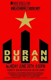 Cleveland Concert Poster duran duran wikipedia discography.JPG