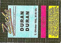 TICKET 1982-10-03 ticket