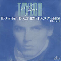 20 i do what i do song single duran duran john taylor wikipedia GOOD 114 - 12 R 6125 new zealand discography discogs lyric wikia music
