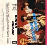 74 DURAN DURAN 1981 ALBUM CASSETTE EMI-KENT ELEKTRONIK · TURKEY · OC-062 64 382 - EMC 33 72