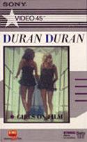 Z5 GIRLS ON FILM · HUNGRY LIKE THE WOLF BETA · EMI MUSIC VIDEO - SONY · USA · No cat wikipedia duran duran
