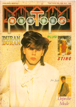 Pop tops magazine duran duran