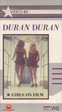 Z5 GIRLS ON FILM · HUNGRY LIKE THE WOLF BETA VHS · EMI MUSIC VIDEO - SONY · USA · No cat wikipedia duran duran