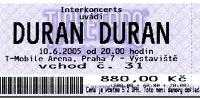 Ticket 10 june 05 200