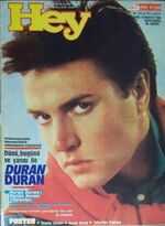 1985 TURKISH MAGAZINE hey wikipedia duran duran