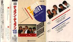 27 tiger tiger cassette japan ZR18-1187 duran duran duranduran.com music song