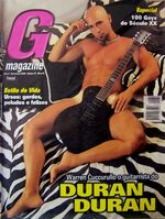 G MAGAZINE PLAYGIRL WARREN CUCCURULLO DURAN DURAN wikipedia