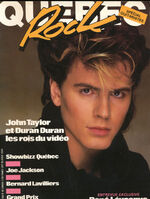Quebec Rock magazine june 84 wikipedia duran duran