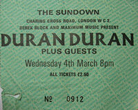 Plumboy1 credits sundown club london wikipedia ticket duran duran