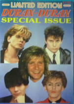 Magazine limited edition duran duran 20 1985