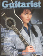 1 guitarist andy taylor magazine Volume 1 Number 12 May 1985 - 26 duran duran