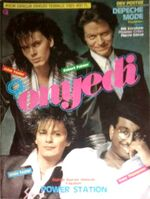 Onyedi Magazine july 1985 turkey Duran Duran Kim Wilde Paul King Boy George Chaka Khan Ornella Muti Shakin' Steven wikipedia power station robert palmer japan