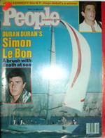 PEOPLE Magazine 8 26 85 Duran Duran