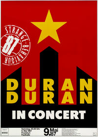 999 Festhalle, Frankfurt (Germany) - 9 May 1987 duran duran discogs poster live shows discography
