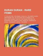 Duran Duran - Rare Items book wiki