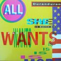 6 all she wants is single germany 060-20 3164 6 us master mix duran duran discography discogs wikipedia