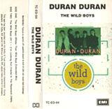 4 THE WILD BOYS SONG SINGLE DURAN DURAN EMI · AUSTRALIA · TC-ED-94 discography cassette discogs wiki com