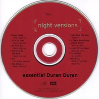 Essential night versions DOUBLE CD · EMI RECORDS · USA · 72434-93922-0-5 duran duran wikipedia album 2