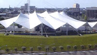 NTelos Wireless Pavilion, Harbor Center wikipedia duran duran